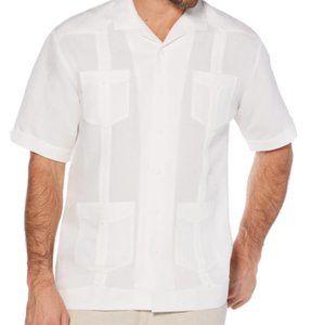 Cubavera Guayabera Button Down Shirt XXL